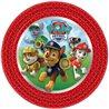 Papírové talíře s motivem z animovaného seriálu Paw Patrol (Tlapková patrola), které nesmí chybět na žádné oslavě. Základní vlastnosti:průměr: 23 cm. balení obsahuje8 ks talířů. licenční výrobek.