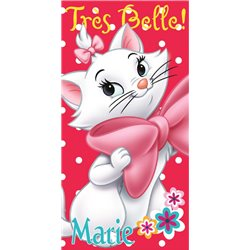 COTTONLAND Bavlněná osuška MARIE CAT 70x140 cm