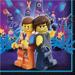 AMSCAN Party ubrousky LEGO MOVIE 2 16 ks