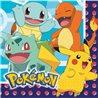 Papírové ubrousky s motivem ze hry Pokémon, které nesmí chybět na žádné oslavě. Základní vlastnosti:rozměry (šxd): 33x33 cm. v balení je 16 kusů. dvouvrstvé ubrousky.