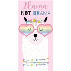 Dětská osuška Lama Not Drama