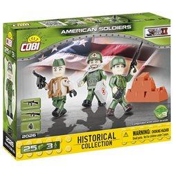 COBI-2029 Stavebnice Small Army Figurky vojáků AMERICKÉ ARMÁDY