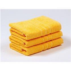 Froté osuška Sofie 70x140 cm (žlutá)