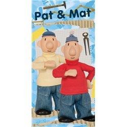 Dětská osuška Pat a Mat 03