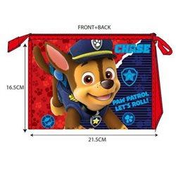 SUN CITY Kosmetická taška PAW PATROL RED 01 21,5x16,5x8 cm