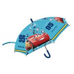 E PLUS M Dětský deštník CARS světle modrý 72 cm