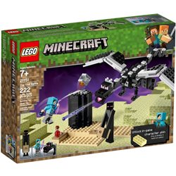 LEGO Minecraft 21151 Stavebnice SOUBOJ VE SVĚTE END