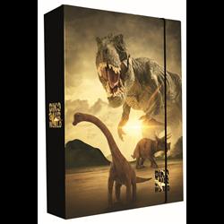 KARTON P+P Box na sešity A4 Jumbo DINOSAUŘI T-REX 24x32x4,5 cm