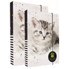 Dětský set boxů na sešity A4+A5 Kočka 02