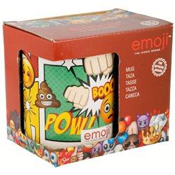 STOR Porcelánový hrnek EMOJI-SMAJLÍCI COMIC 325 ml