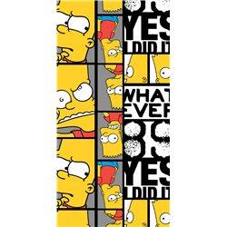 Dětská osuška Simpsons Bart 89