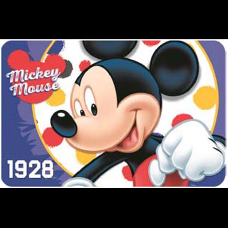 W&O PRODUCTS Dětské prostírání MICKEY MOUSE 02 43x28 cm