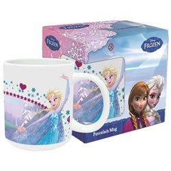 Euroswan dětský hrnek Frozen Anna a Elsa (325 ml)