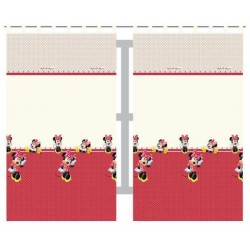 DETEXPOL Dětské záclony Minnie 2ks polyester 140x200