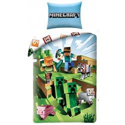Dětské povlečení Minecraft Farma