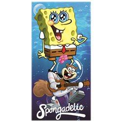 Dětská osuška SpongeBob a Sandy