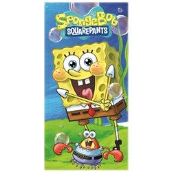 Dětská osuška SpongeBob a Krabs