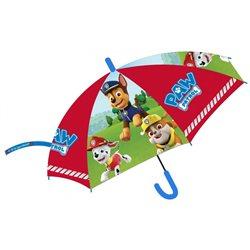 E PLUS M Dětský deštník PAW PATROL červený 73 cm