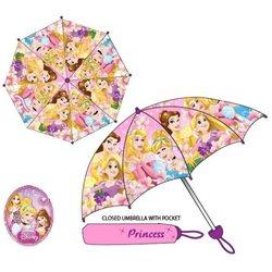 SUN CITY Dětský deštník PRINCEZNY růžový 94 cm