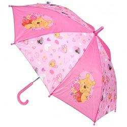 STARPACK Dětský deštník MEDVÍDEK PÚ růžový 74 cm