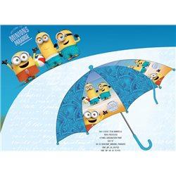 Dětský deštník MIMONI modrý 64 cm
