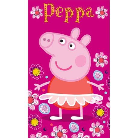 TIPTRADE Dětský ručník PEPPA PIG Baletka 30x50 CM