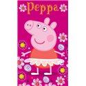Dětský ručník Peppa Pig Baletka 30x50 cm