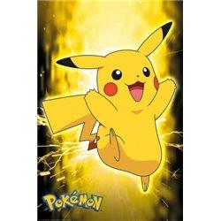 Dětský plakát Pokémon Pikachu 61x91 cm