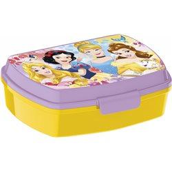 Dětský box na svačinu Princezny (žlutý)