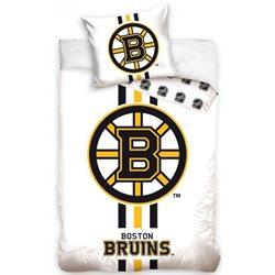 TIPTRADE Bavlněné povlečení NHL BOSTON BRUINS WHITE 140x200, 70x90 cm