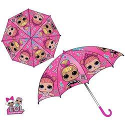 SUN CITY Dětský deštník L.O.L. SURPRISE růžový 70 cm