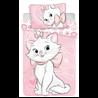 Dětské povlečení Marie Cat Pink Heart