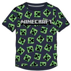 GBG Bavlněné tričko MINECRAFT CREEPER FACE 116 cm