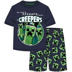 GBG Bavlněné pyžamo MINECRAFT CREEPERS 140 cm