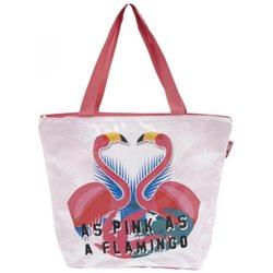 ARDITEX Dětská plážová taška FLAMINGO-PLAMEŇÁK 49x15x39 cm