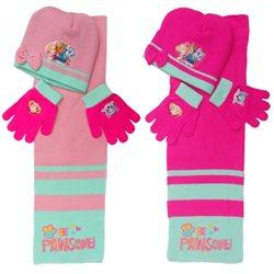 ARDITEX Dětský zimní set čepice, šály a rukavic PAW PATROL 3 ks
