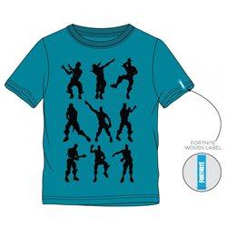 GBG Bavlněné tričko FORTNITE BLUE 140 cm