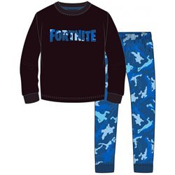 GBG Bavlněné pyžamo FORTNITE BLACK/BLUE 140 cm