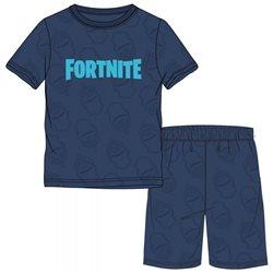 GBG Bavlněné pyžamo FORTNITE 140 cm s krátkým rukávem