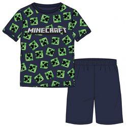 GBG Bavlněné pyžamo MINECRAFT CREEPER FACE 116 cm
