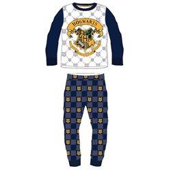 E PLUS M Bavlněné pyžamo HARRY POTTER HOGWARTS ERB 128 cm