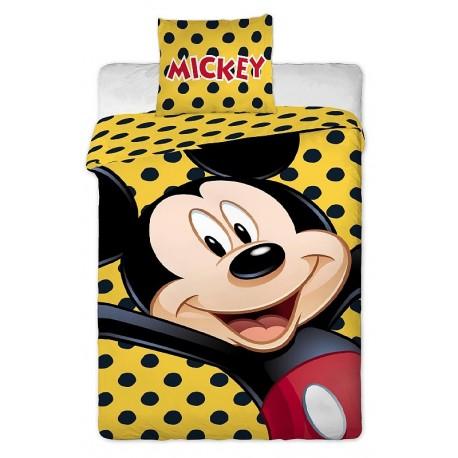 Dětské povlečení Mickey yellow