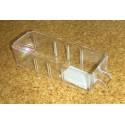 Krabička (zásuvka) typ A - 1 ks (čirý plast)