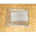 Přepážka malá pro zásuvky A - sada 10 ks (čirý plast)