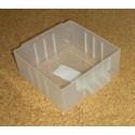 Krabička (zásuvka) typ B - 1 ks (polypropylen)