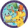 Dětské party talíře Pokémoni 23 cm (8 ks)