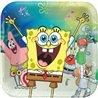 Dětské party talíře SpongeBob 23 cm (8 ks)