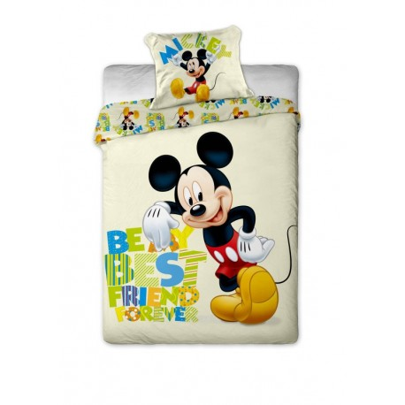 Dětské povlečení Mickey letter