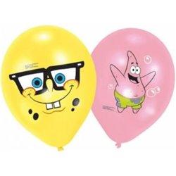 AMSCAN Dětské párty balónky SPONGEBOB 6 ks