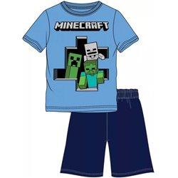 Dětské pyžamo Minecraft Nepřátelé (velikost 152 cm)